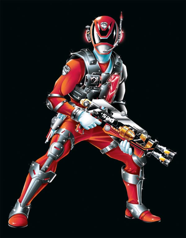POWER RANGERS SPD - RED SWAT MODE by DXPRO on DeviantArt