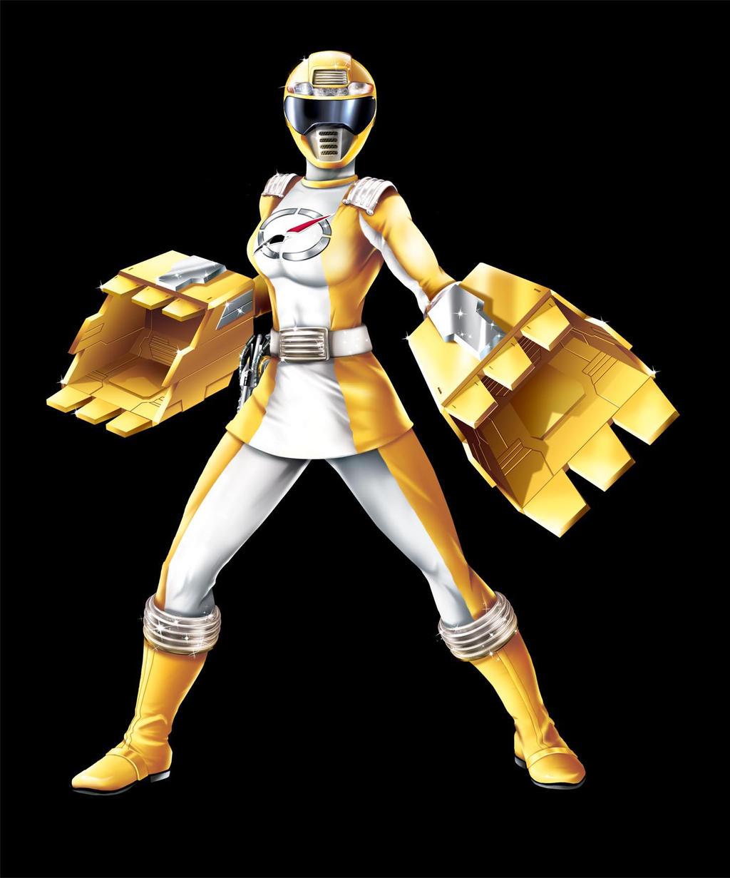caitlin murphy power rangers yellow ranger