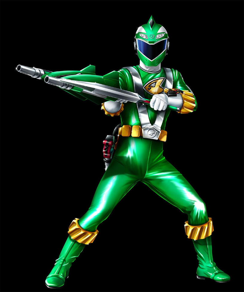 POWER RANGERS RPM - GREEN RANGER by DXPRO on DeviantArt