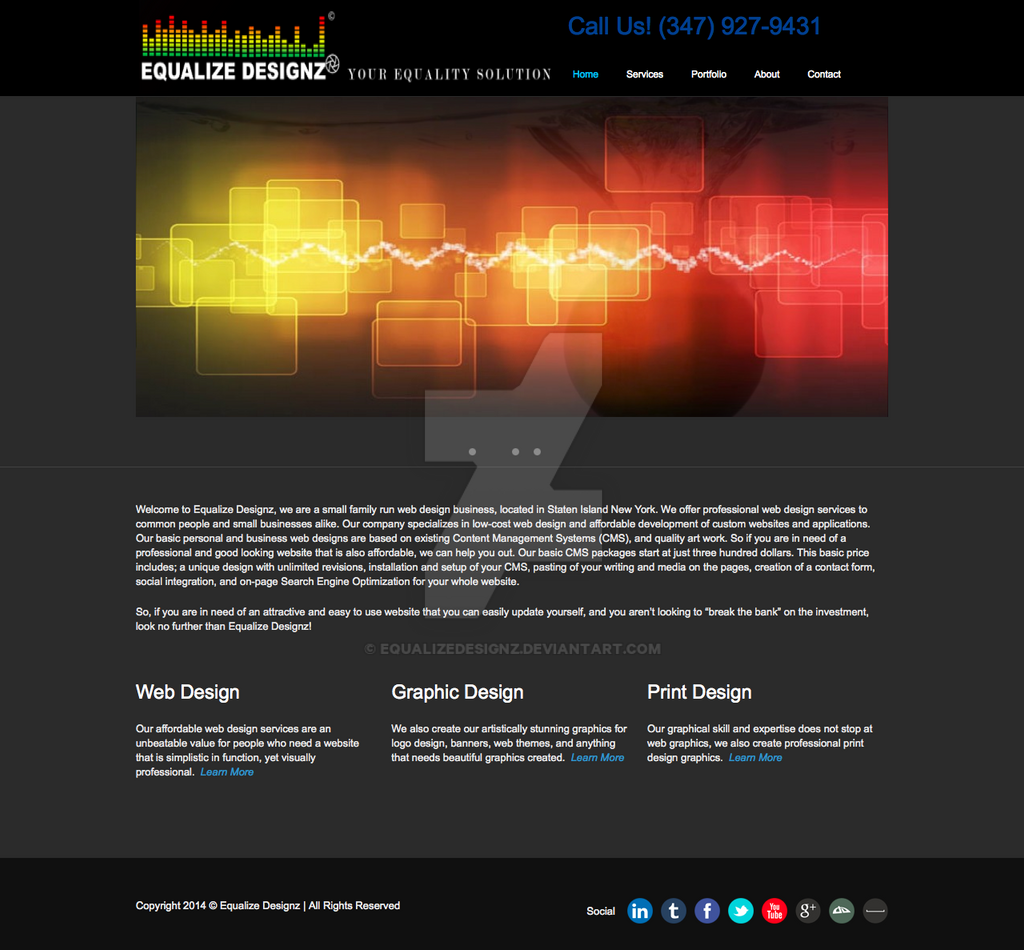 Equalize Designz  low cost Web Design on State by equalizedesignz