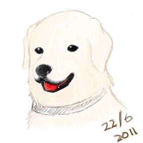Doodles: Golden Retriever by RuzMustang