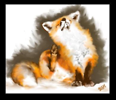 cute little fox by jackal-god
