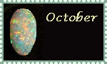October Stamp by coyearth