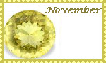 November Stamp by coyearth