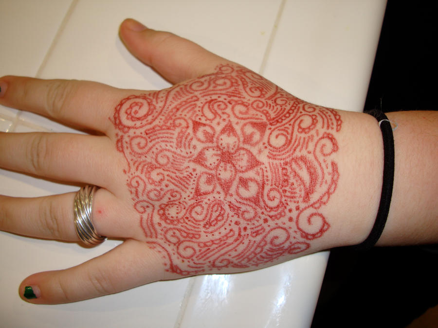 sharpie tattoo: hand by ~MrsMaxxLucifer on deviantART