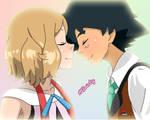 SatoSere - Ash and Serena