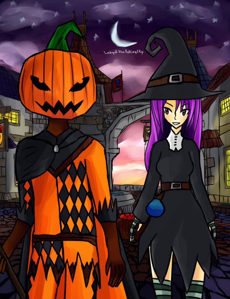 Wizard101 - Halloween by paper-em on DeviantArt