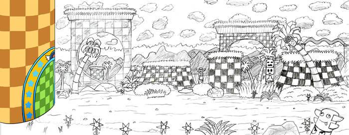 Sonic Mania Background