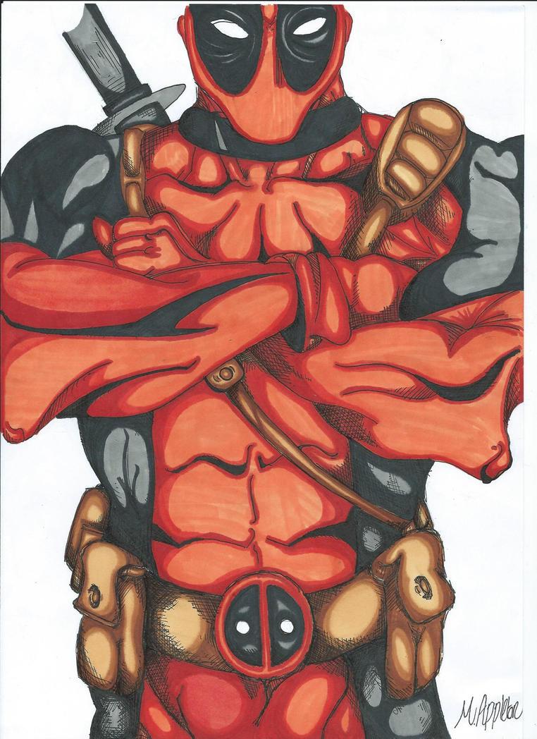 Deadpool by CrustyCrumble