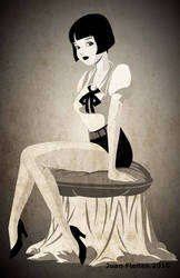 Louise Brooks by gatoloco74