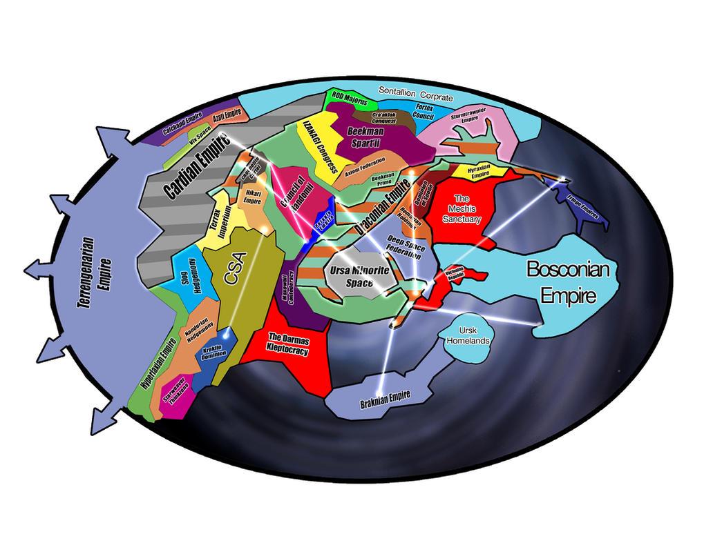 Revisit: Known Villipax Galaxy Map By Myriagonic On DeviantArt