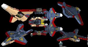 LA-19 'Vleugel Duif' Strike Fighter