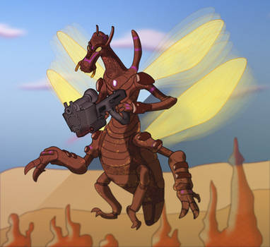 Gladiatorial Supersoldier- Tamak Bjyo