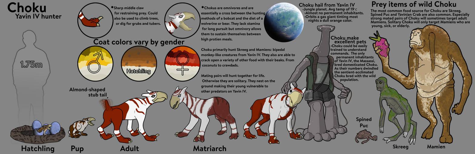 Choku Species Sheet