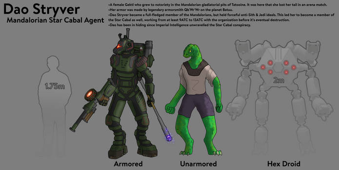 Agent of the Star Cabal-Dao Stryver