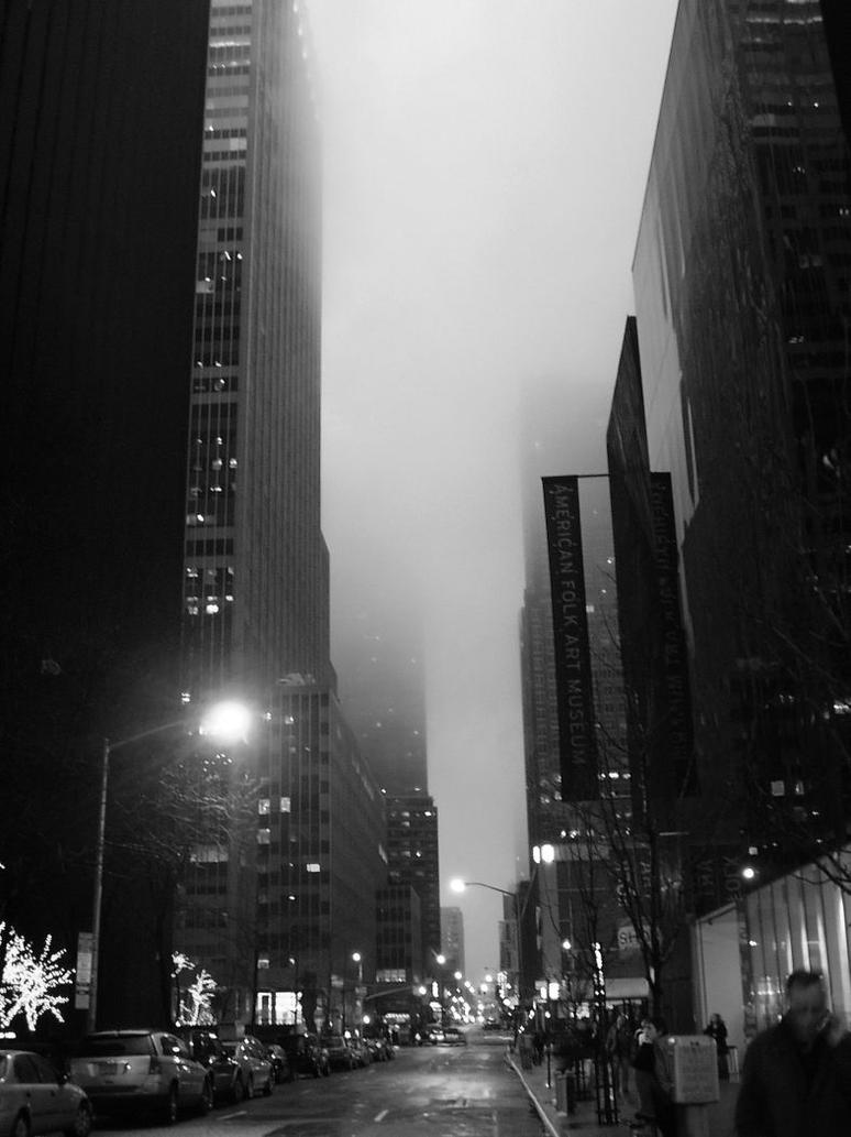 Foggy NYC by extreme360