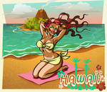 hawaiian pinup