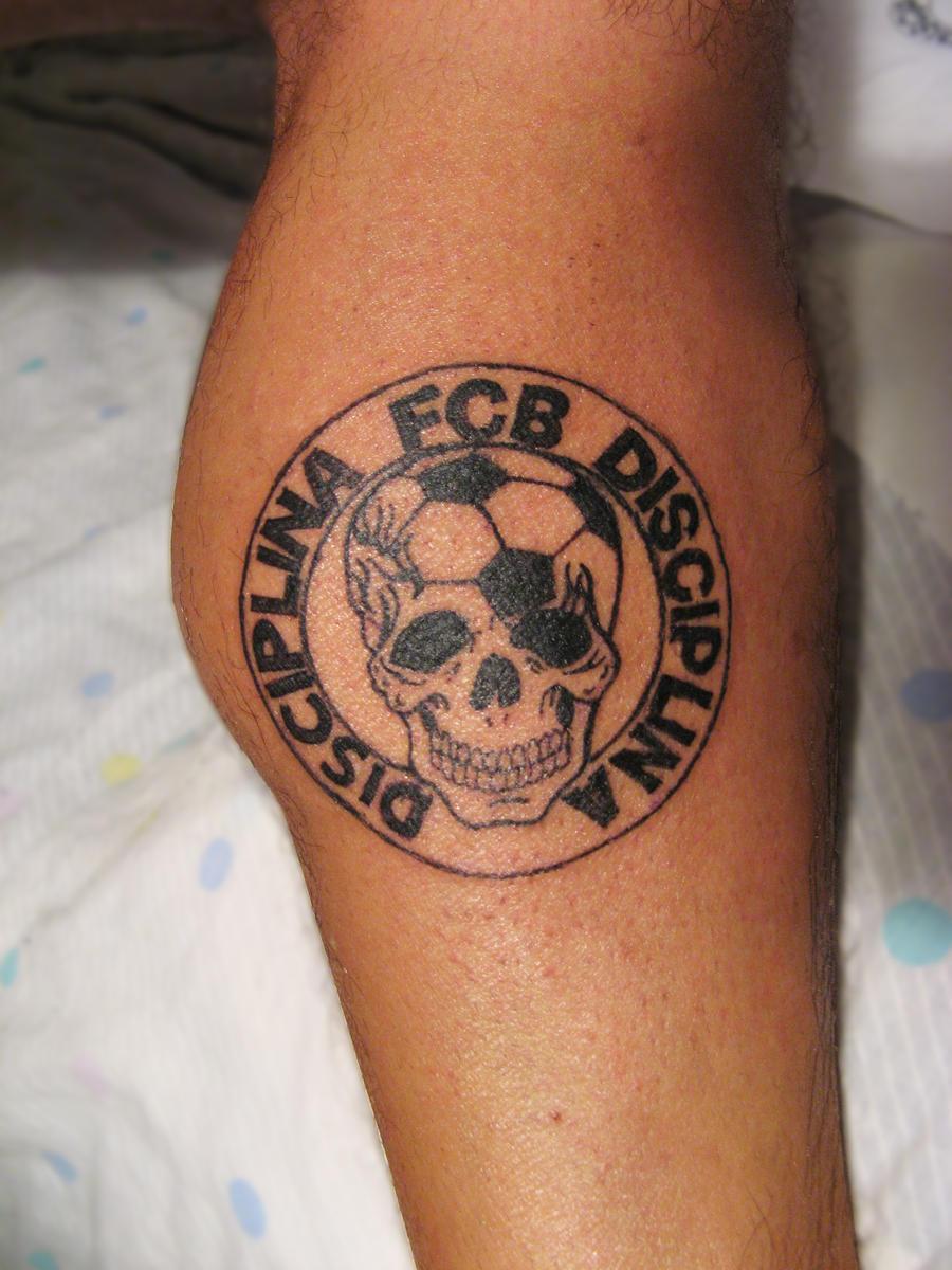 fc barcelona tattoo by smarelda on deviantart. Black Bedroom Furniture Sets. Home Design Ideas
