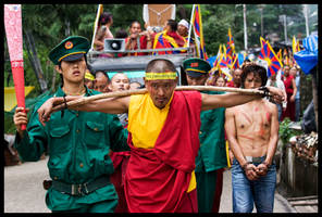 Tibet's March For Freedom. by longlivefidel