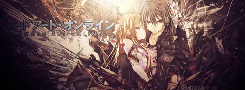 Sword Art Online ` Kirito and Asuna[TLC] by JamesxpGFX