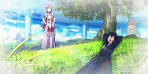 Sword Art Online Signature 00 by JamesxpGFX