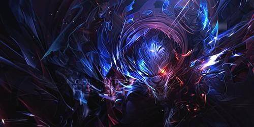 Night Hunter Rengar Splash Art #nighthunterrengar | E...