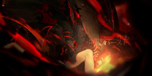 Inferno Burst by JamesxpGFX