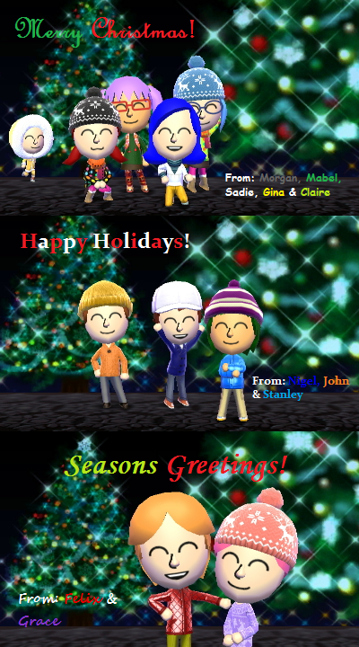 Morgan and friends christmas greetings 2016 by starlight790 on morgan and friends christmas greetings 2016 by starlight790 m4hsunfo
