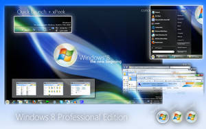 Windows 8 Pro by mufflerexoz