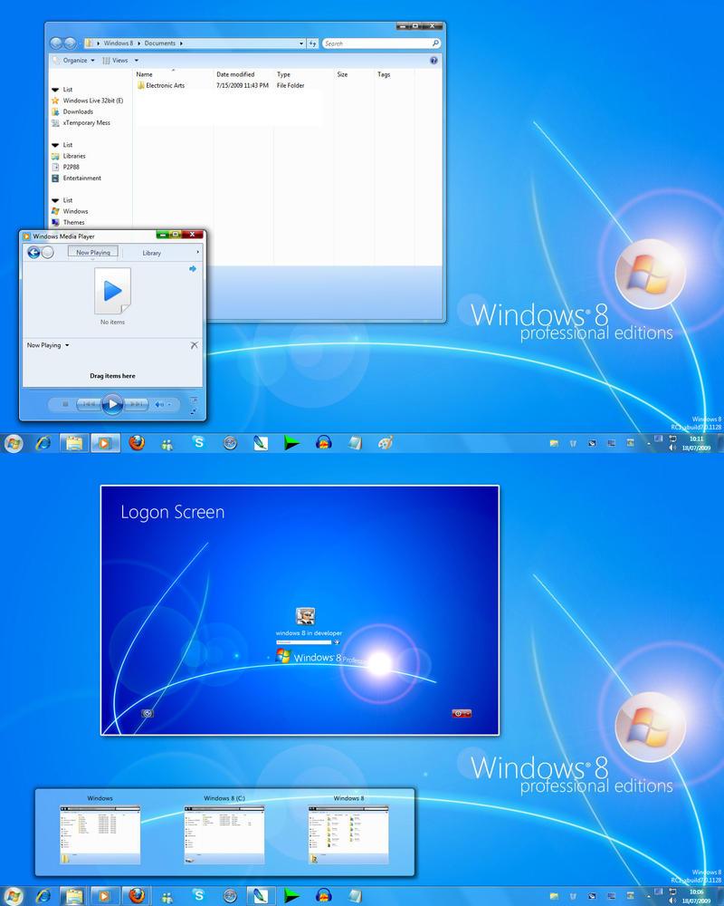 Windows 8 booking.