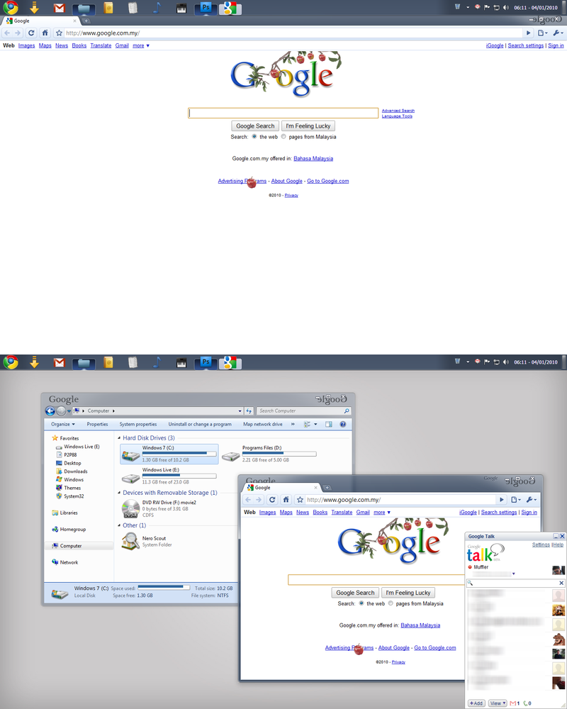 Google Chrome OS In Win7 By Mufflerexoz On DeviantART