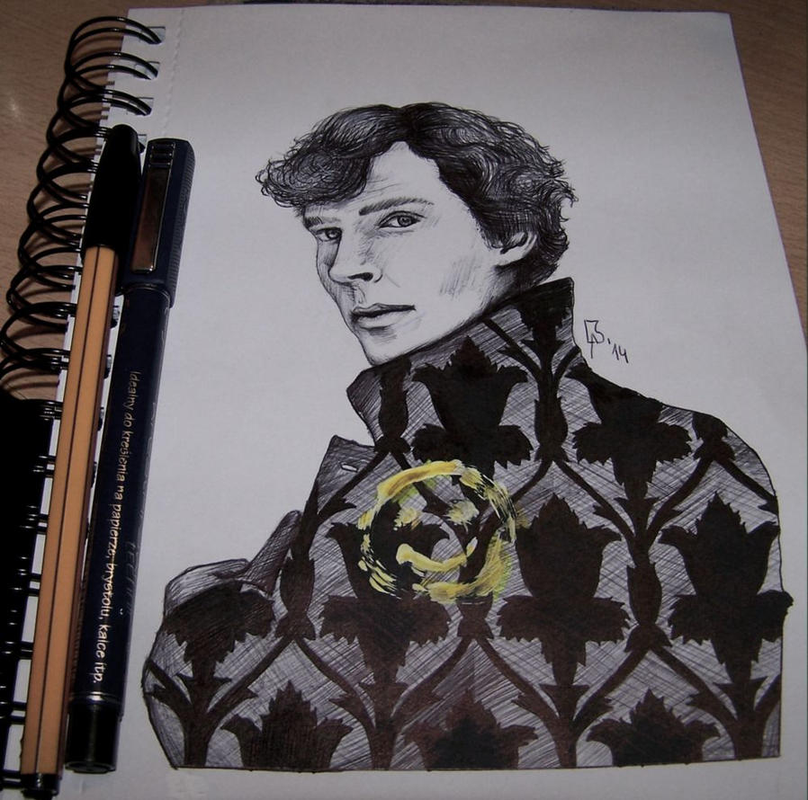 Sherlock - Benedict Cumberbatch by as-obu on DeviantArt
