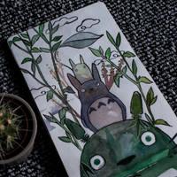 Sketchbook no.2 - Totoro by as-obu