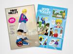 Flyer Roni Roller Makassar versi Comic