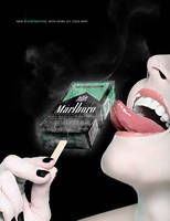 Marlboro Black Menthol - Icy Cold by GhostPepperArt