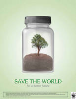WWF - Global Warming - Save The World Tree by GhostPepperArt