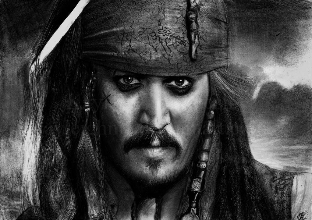 Captain Jack Sparrow by kayleighmc