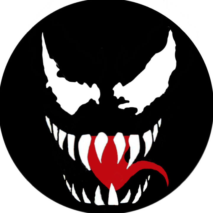 Venom spiderman symbol drawing - photo#19