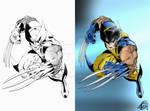 Wolverine (Marvel) - Digital Painting
