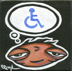 Crippled Thoughts by BROGart