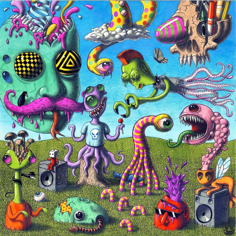 Trippy, Creepy, Album Cover! by JimmyAlonzo on DeviantArt  Trippy, Creepy,...