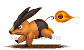 Tepig Sprite - Flame Charge