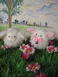 Happy sheep by RozenRood