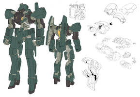 Graze with Space Mobility Pack Arianrhod Fleet Col by Lockon5500