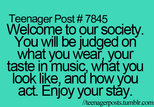 Teen Quotes Teenage Love Facebook : Teenager Post by Teenager-Posts on DeviantArt