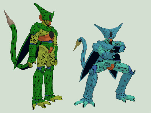 MMD DOWNLOAD] Cell Firs Form [DBZ] by M0fD on DeviantArt