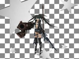 [MMD DOWNLOAD] PSP Black Rock Shooter 2035