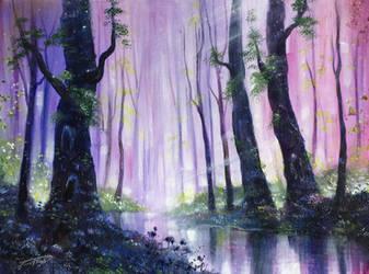 Secret Woods by jennifertaylorart