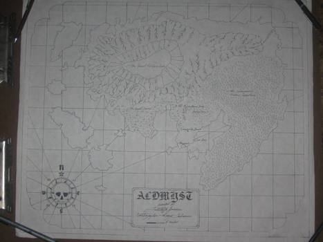 Sea Chart of Aldmyst Island