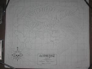 Sea Chart of Aldmyst Island
